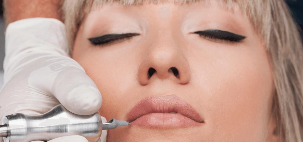 How long is lip tattoo kept?