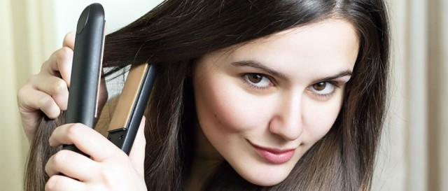 how to use straightening irons