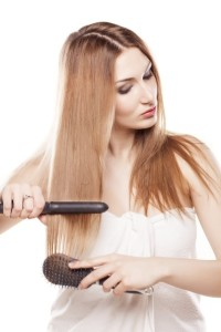 straighten your hair at home