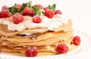 Pancake cake recipe