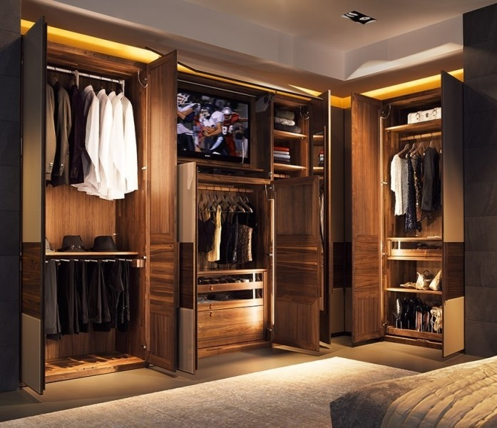 sliding wardrobe stretch from wall to wall