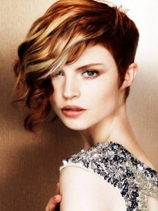 apply a styling mousse to arrange hairdo