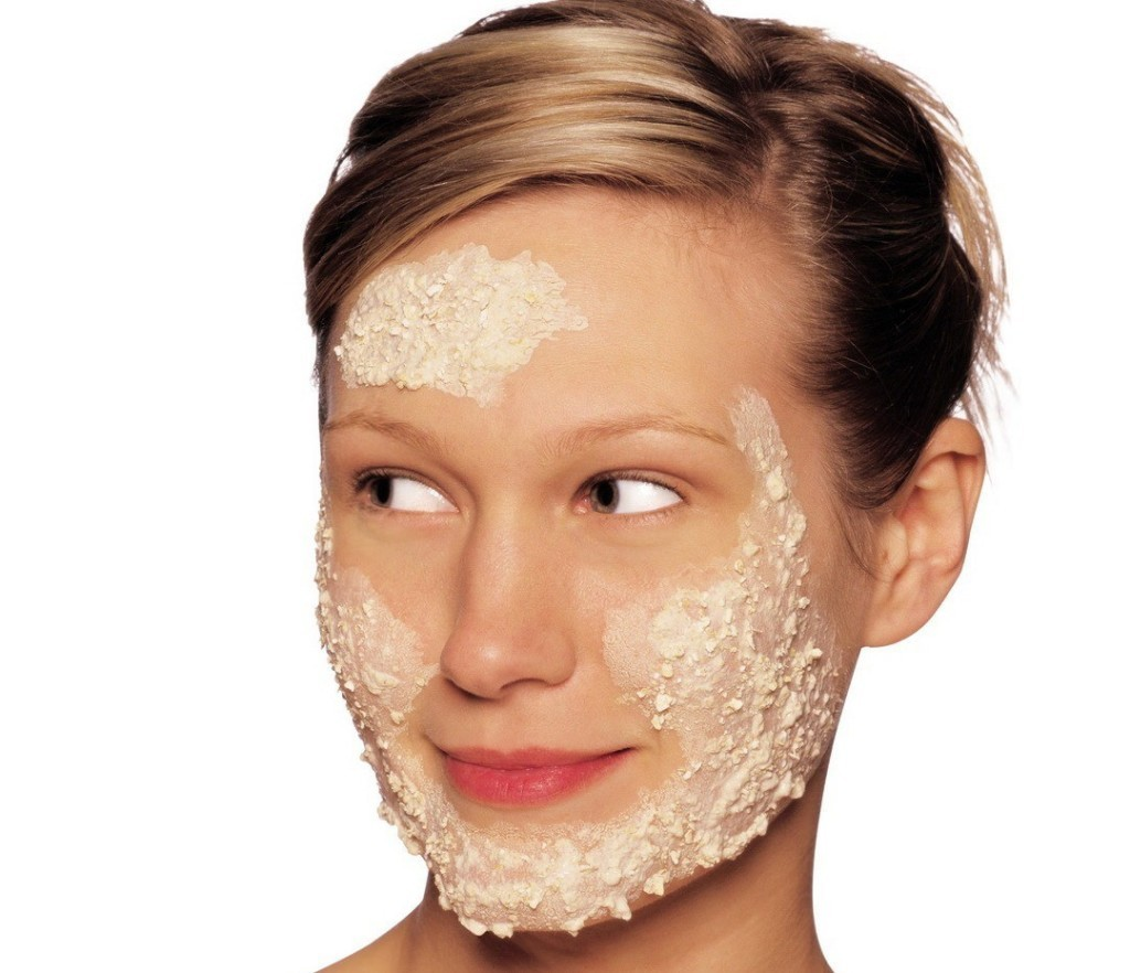 oat flakes for dry skin