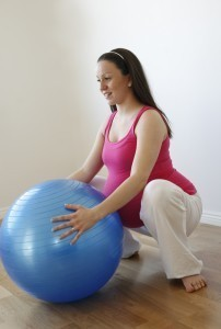 Exercises for easing childbirth