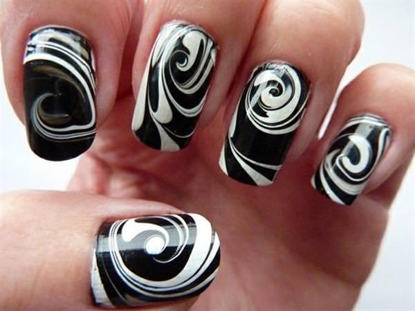to create a nail art
