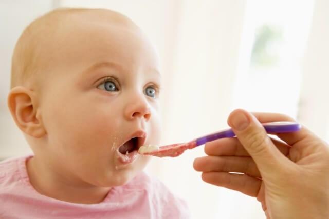 first feeding baby
