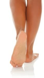 problem of feet' skin