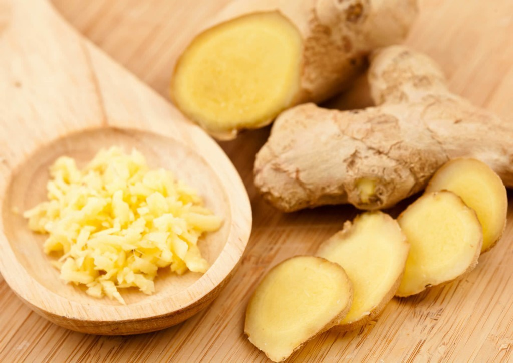 The ginger root
