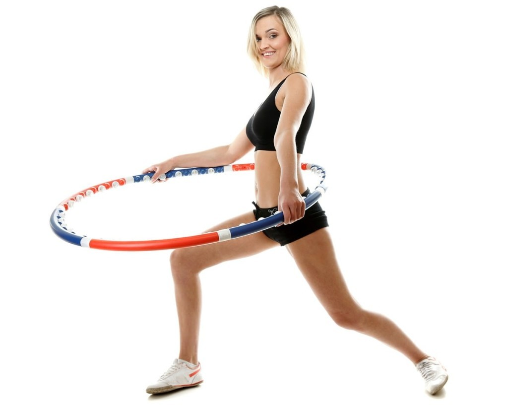 slimming exercises with hula hoop