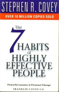 """""""Seven Habits of Highly Effective People"""" by Stephen Covey"""