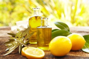 Poultice of olive oil and lemon juice