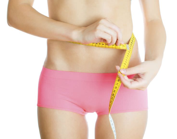 Why does the belly lose its shape?