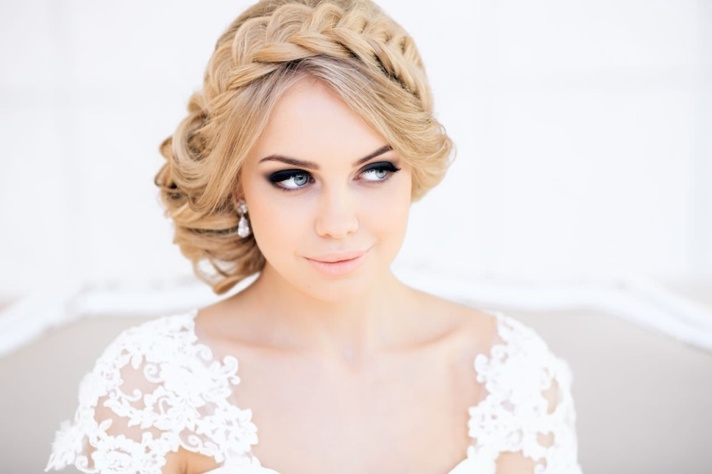 "Hairstyles for a wedding for long hair ""Gretchen"""