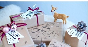 Ways of decorating a pack for gift.
