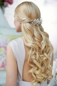 "Wedding hairstyles for long hair ""Princess"""