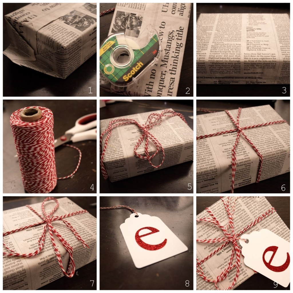 Good advices for wrapping gifts