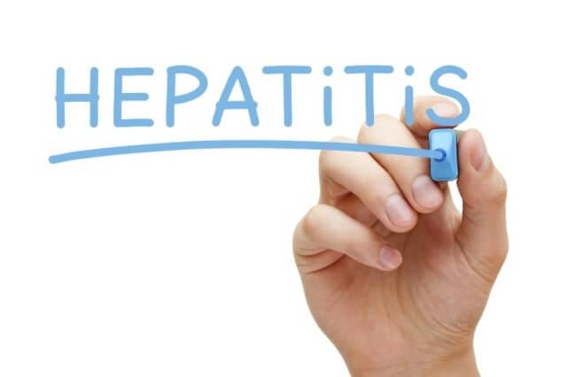 Different types of hepatitis C.