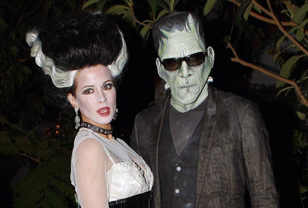 Kate Beckinsale with her husband Len Wiseman