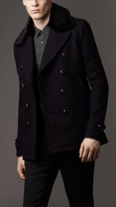 men's coat in military style