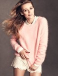 pastel color sweater
