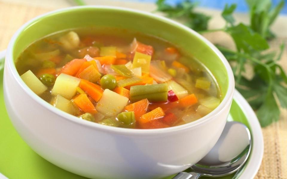 diet based on vegetable soup