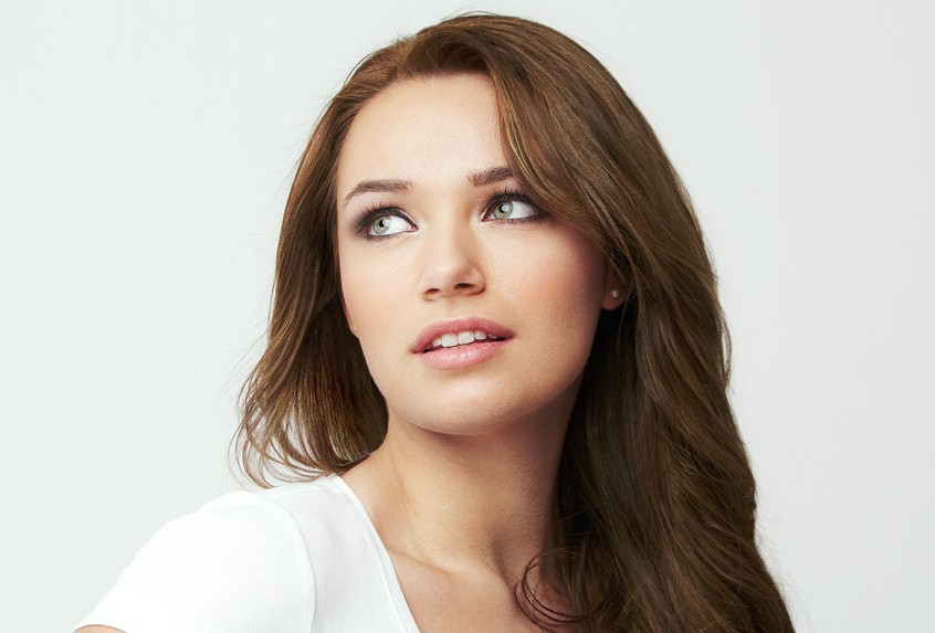 Light-chestnut brown hair