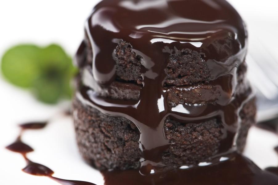 chocolate glaze with honey