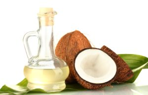 Coconut oil for hair masks