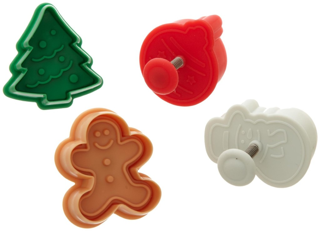 Holiday Piecrust Cutters