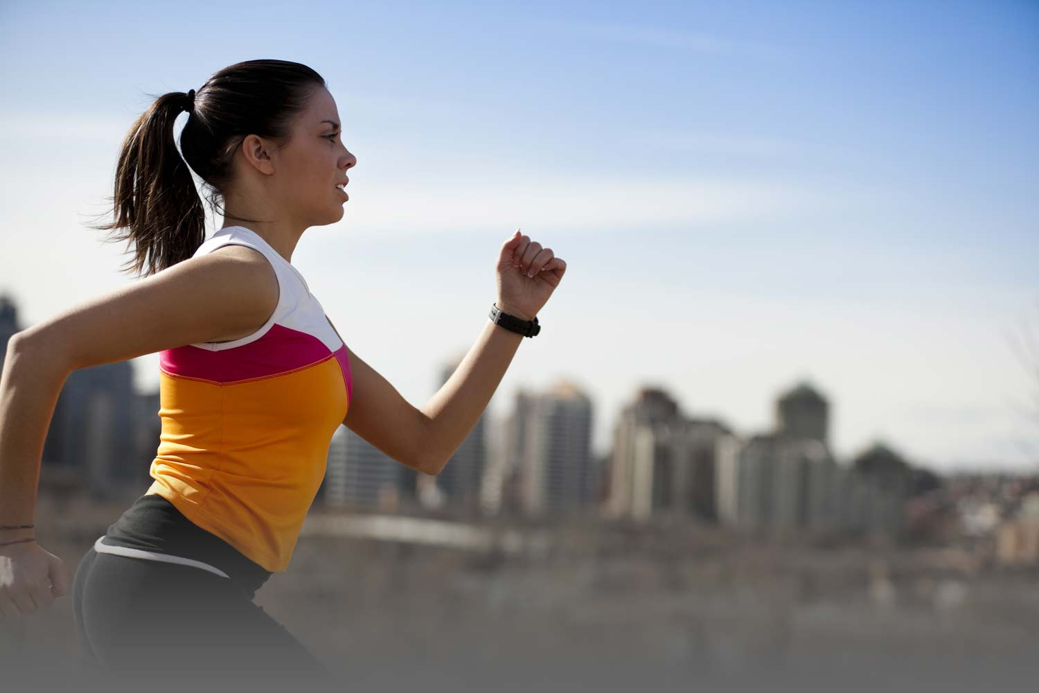 Interval running for weight lose