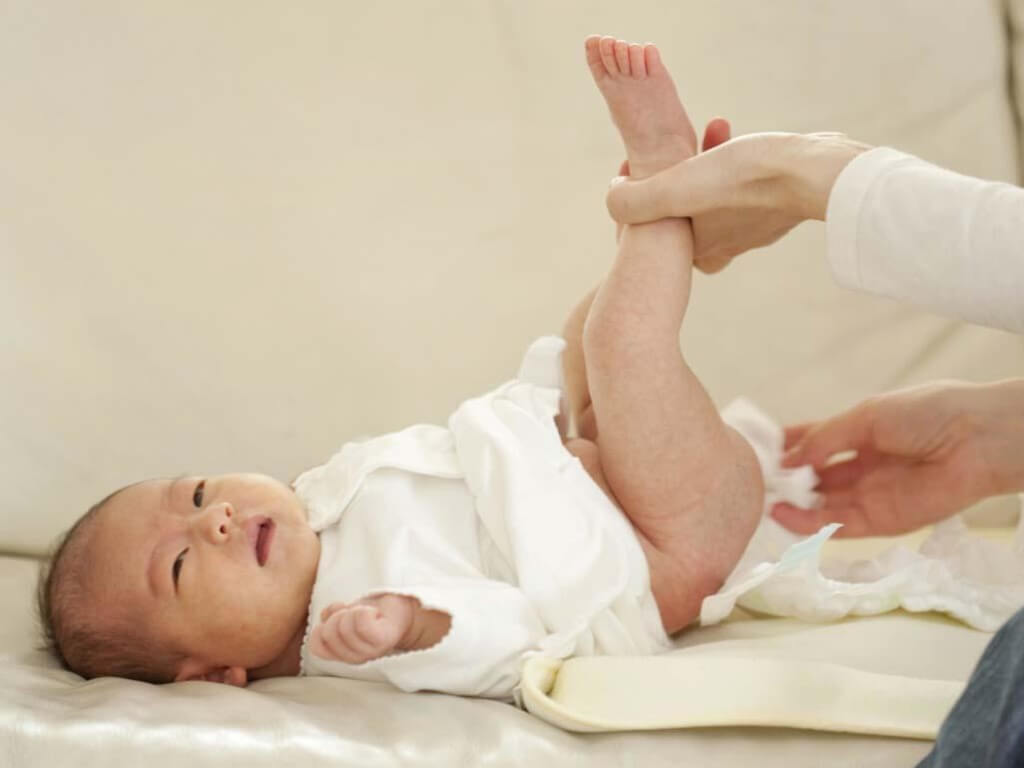 normal the baby's stool