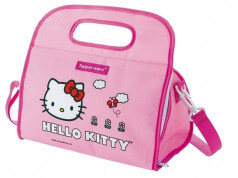 tested a cooler bag from Hello Kitty