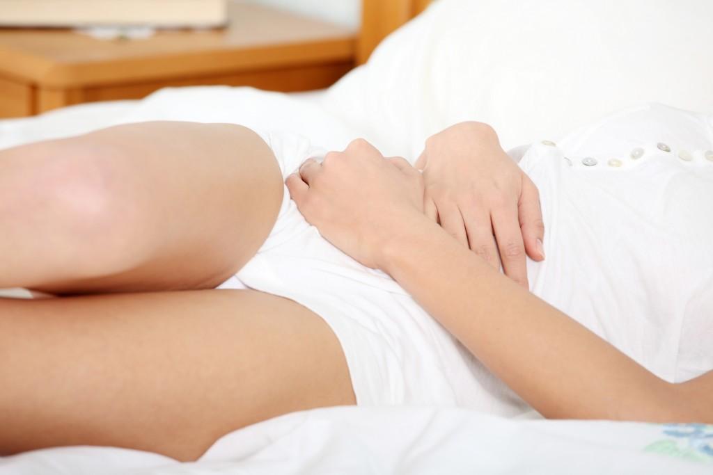 Discharges during menstruation