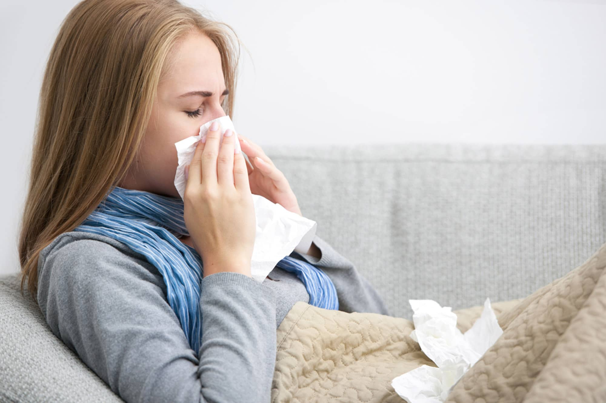 differ between flu and cold