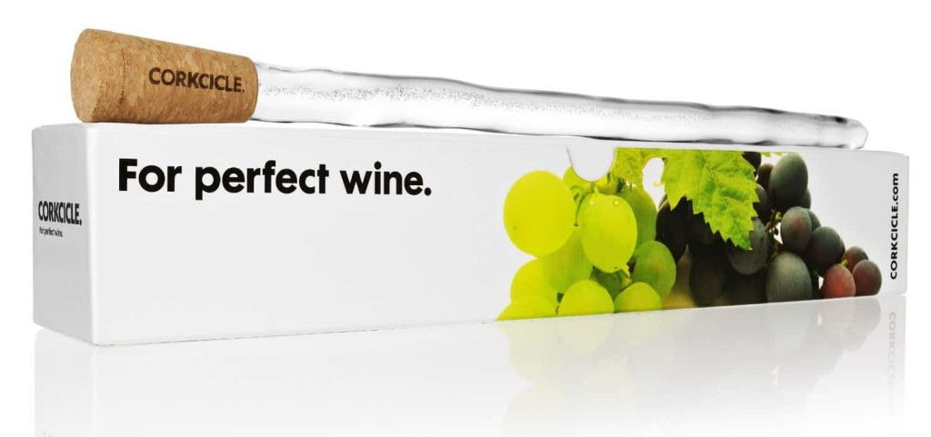 Wine icicle