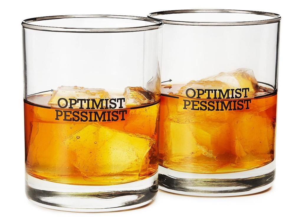 Glasses for pessimists and optimists
