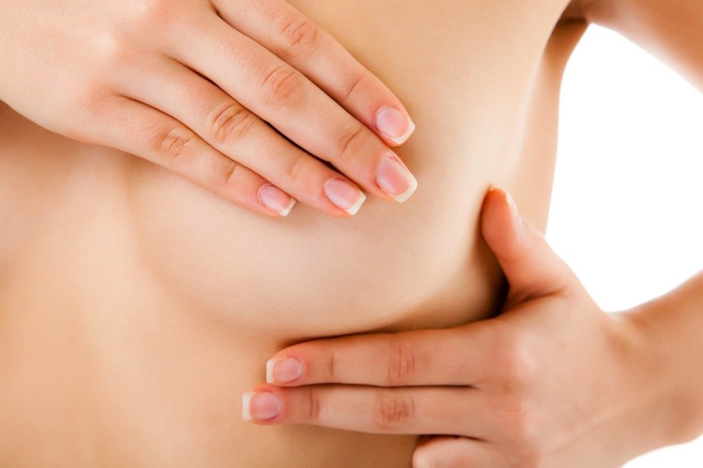 Pain in breasts