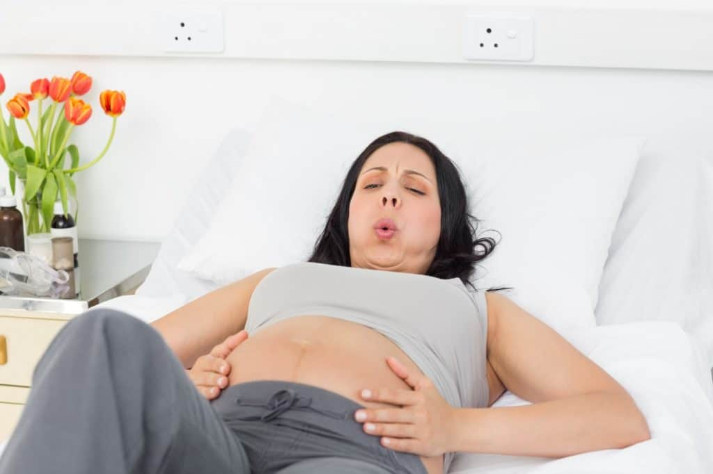 pain during ectopic pregnancy