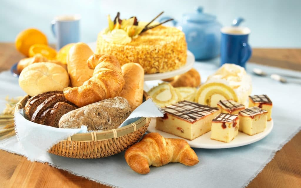 Exclude bread and pastry