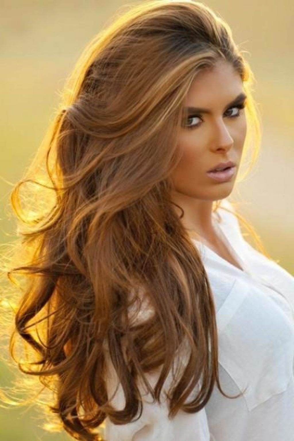 Golden Brown Hair Dye Over Highlights Your New Hairstyle