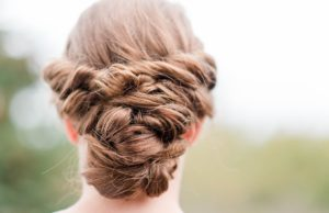 wedding up do by mobile hairdresser